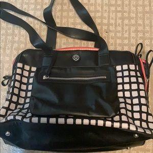 Lululemon small duffle/weekender bag